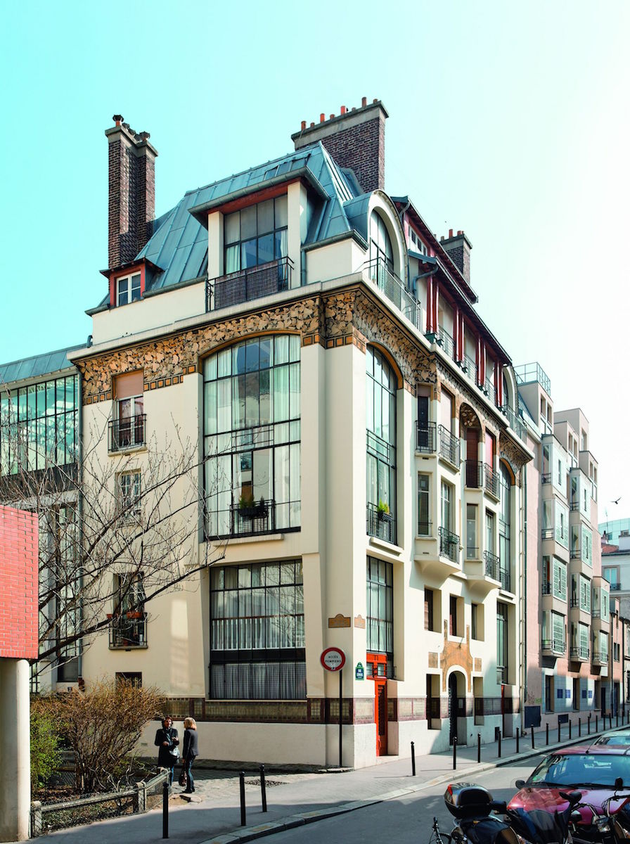 """Rue Lebouis, wystawa """"Paryskie pracownie artystów"""" (źródło: materiały prasowe organizatora)"""