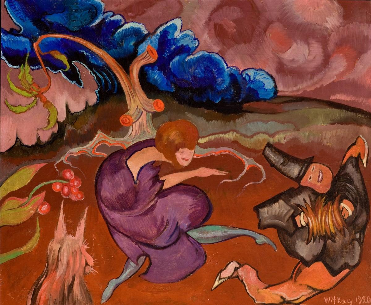 Kompozycja z tancerką, 1920, Olej na płótnie, 65 x 78 cm, z kolekcji Muzeum Narodowego w Krakowie, fot. Muzeum Narodowe w Krakowie (źródło: materiały prasowe)