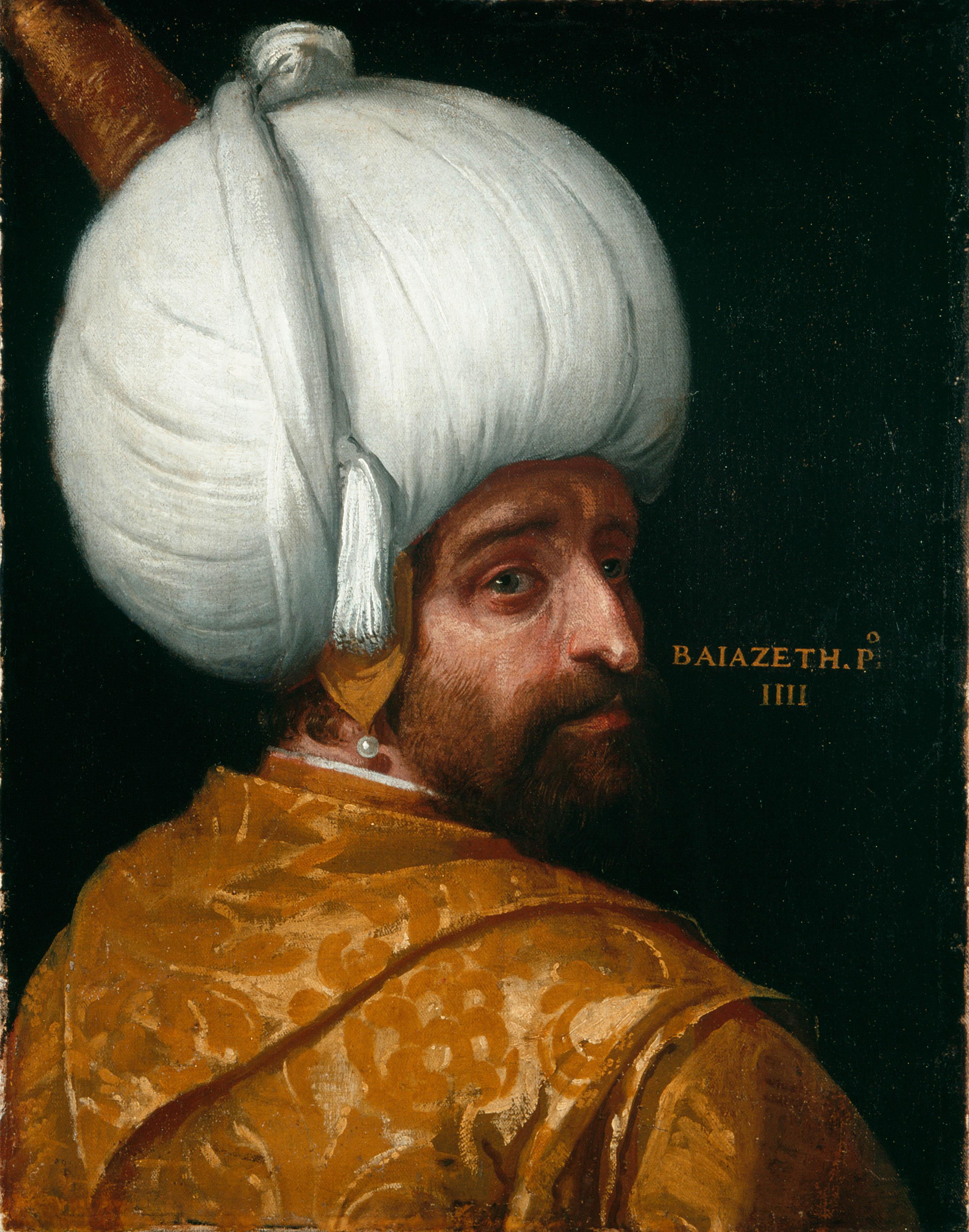 """Paolo Veronese (oraz warsztat), """"Sułtan Bajazyd I, Alte Pinakothek"""" Monachium, prawa autorskie Bayer&Mitko – ARTOTHEK (źródło: materiały prasowe)"""