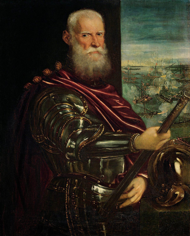 """Tintoretto, """"Portret Sebastiano Veniera, admirała floty weneckiej"""", po 1571, Kunsthistorisches Museum, Wiedeń (źródło: materiały prasowe)"""