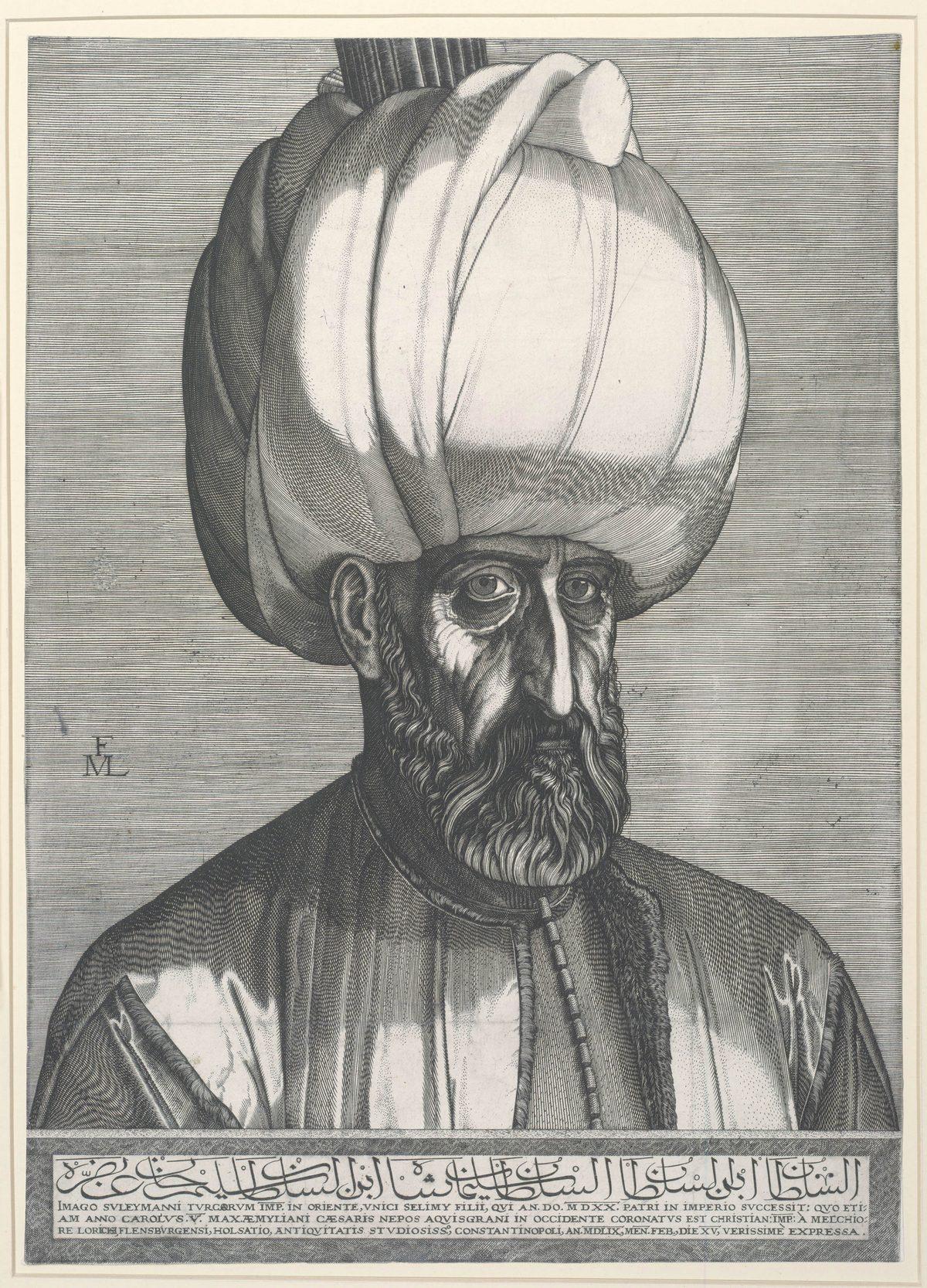 """Melchior Lorck, """"Popiersie sułtana Sulejmana Wspaniałego"""", 1562 r., Albertina, Wiedeń (źródło: materiały prasowe)"""