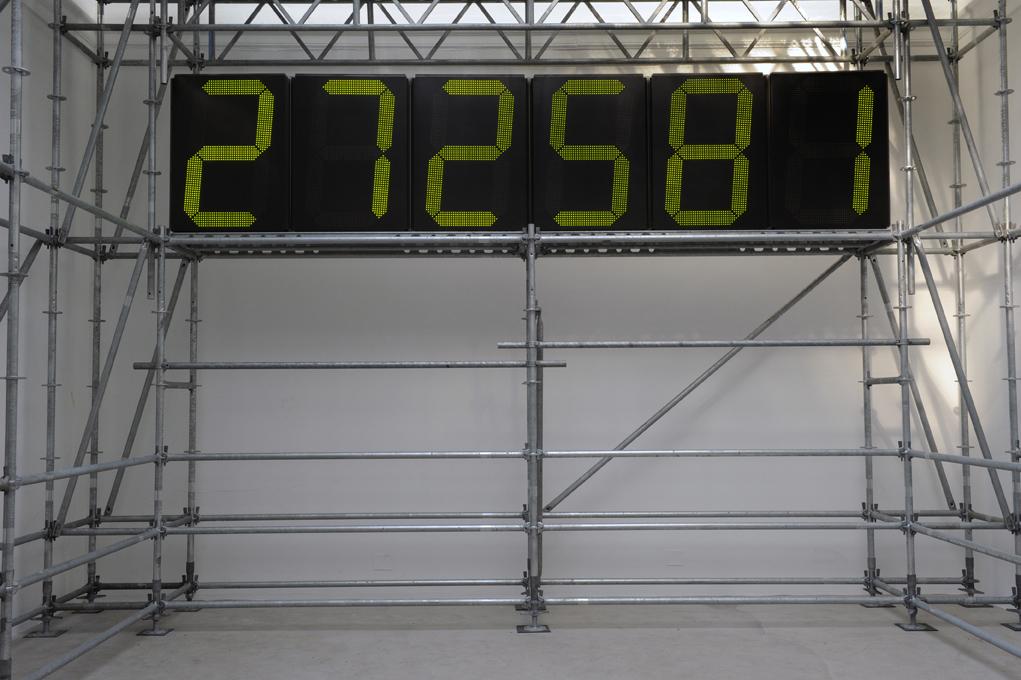 """Christian Boltanski, """"Chance"""", Biennale w Wenecji, 2011 (źródło: materiały prasowe)"""