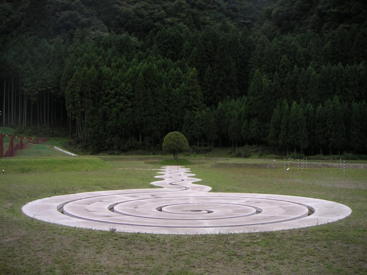 Art Forest, 1998-2006, Murou, Japonia, Studio Karavan (źródło: materiały prasowe organizatora)