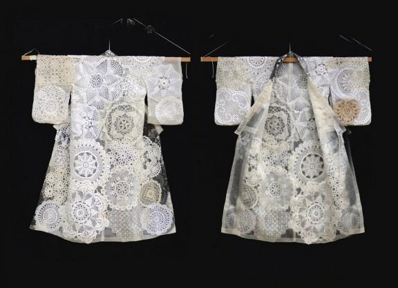 """Z wystawy """"Kimono un-perfect"""", fot. Joanna Bodzek (źródło: materiały prasowe)"""