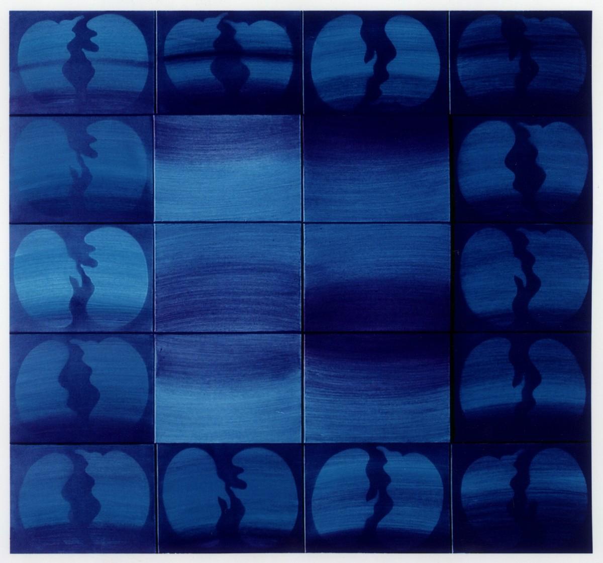 """Piotr Błażejewski, cykl """"Kolekcja"""" XV, 2004 (źródło: materiały prasowe Galerii Stalowa)"""