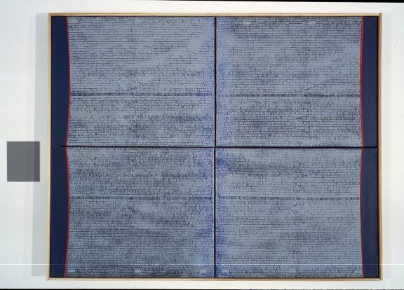 """Piotr Błażejewski, """"Epitafium"""" I, 2009 (źródło: materiały prasowe Galerii Stalowa)"""