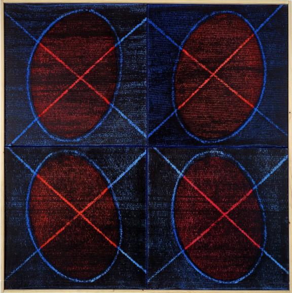 """Piotr Błażejewski, """"N.F.G."""" I, 2008 (źródło: materiały prasowe Galerii Stalowa)"""