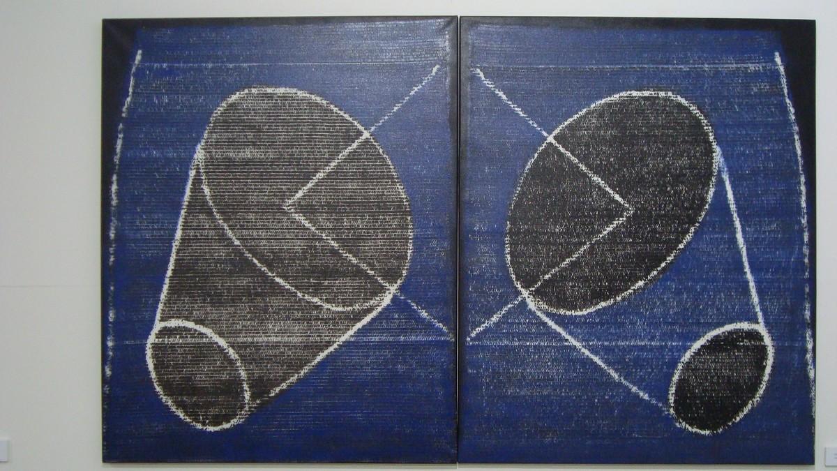 """Piotr Błażejewski, """"N.F.G."""" VI, 2010 (źródło: materiały prasowe Galerii Stalowa)"""