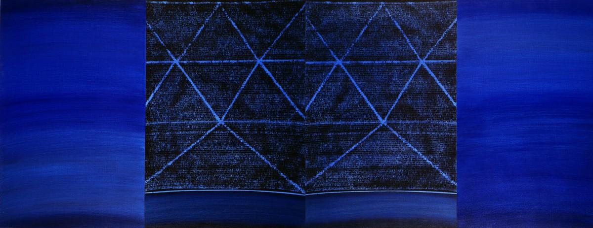"""Piotr Błażejewski, """"N.F.G."""" IX, 2008 (źródło: materiały prasowe Galerii Stalowa)"""