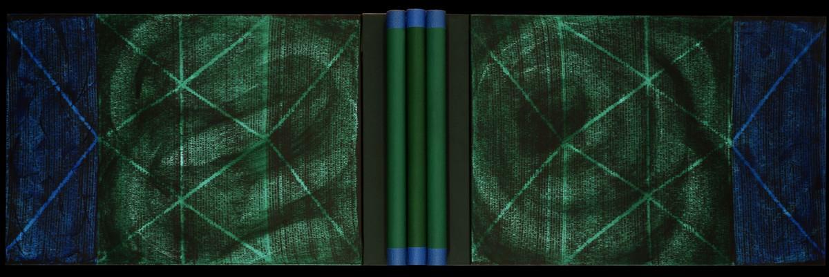 """Piotr Błażejewski, """"Obiekt Malarski"""" III, 2013 (źródło: materiały prasowe Galerii Stalowa)"""