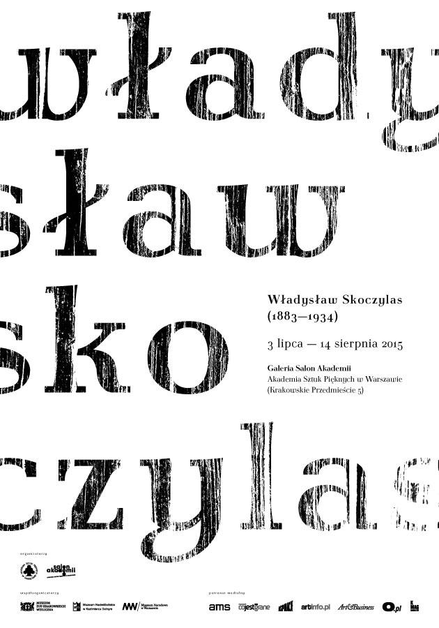 """""""Władysław Skoczylas (1883–1934)"""" – plakat (źródło: materiały prasowe)"""