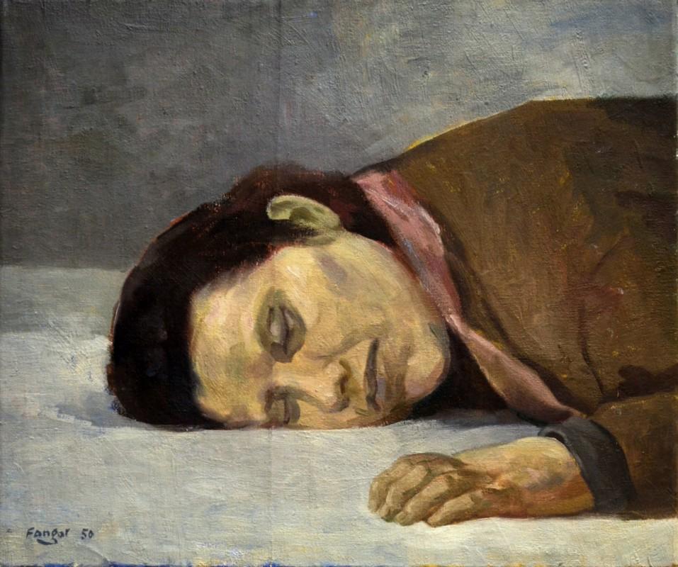 Wojciech Fangor, Matka Koreanka, 1950 (źródło: materiały prasowe organizatora)
