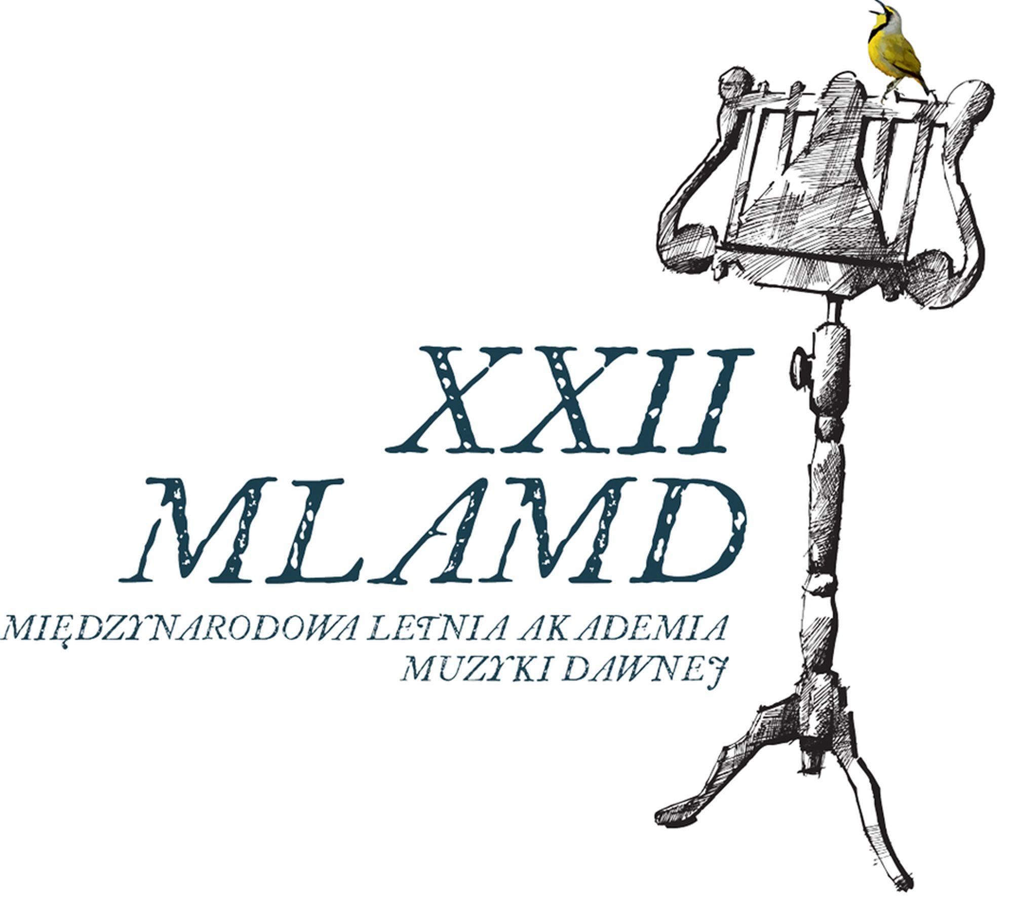 XXII Międzynarodowa Letnia Akademia Muzyki Dawnej – plakat (źródło: materiały prasowe)