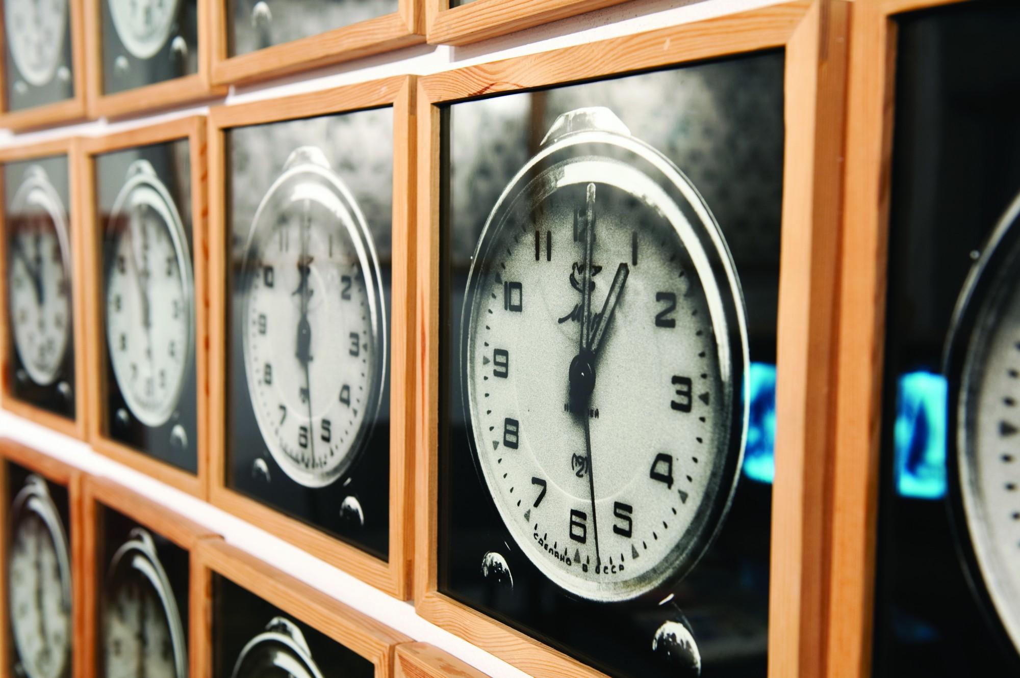 Natalia LL, Rejestracja permanentna — 24 godziny, 1970, fot. Małgorzata Kujda ⓒ Muzeum Współczesne Wrocław, Kolekcja Muzeum Narodowe we Wrocławiu (źródło: materiały prasowe organizatora)