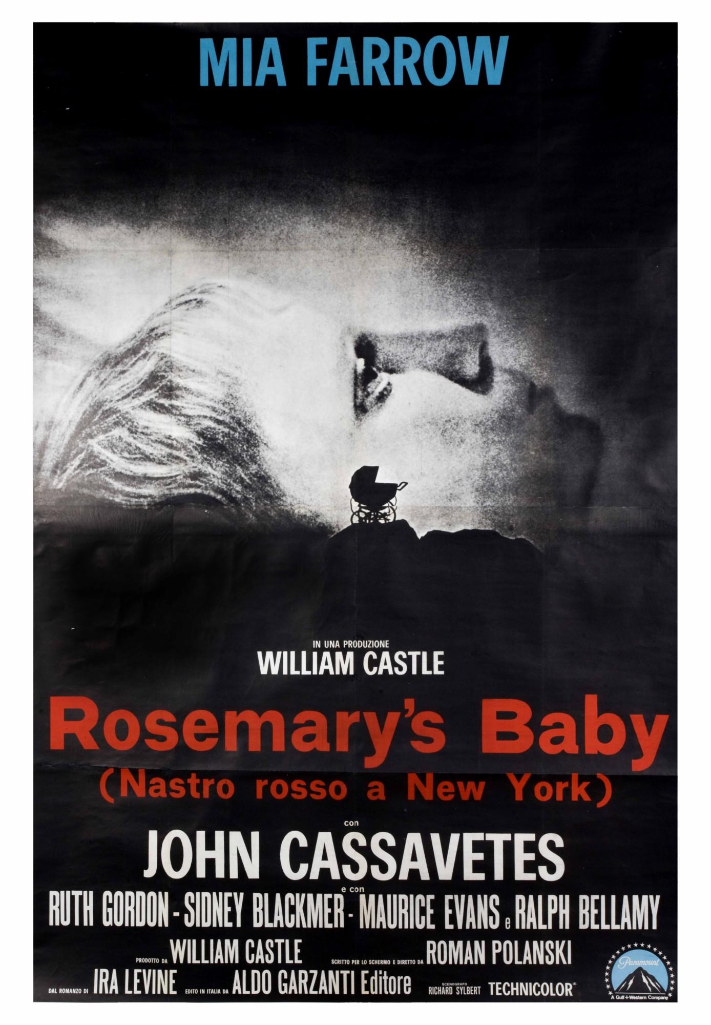 """""""Dziecko Rosemary"""", plakat (źródło: materiały prasowe)"""