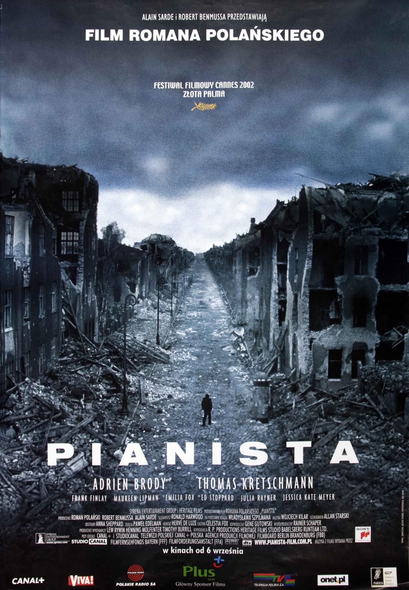 """""""Pianista"""", plakat (źródło: materiały prasowe)"""