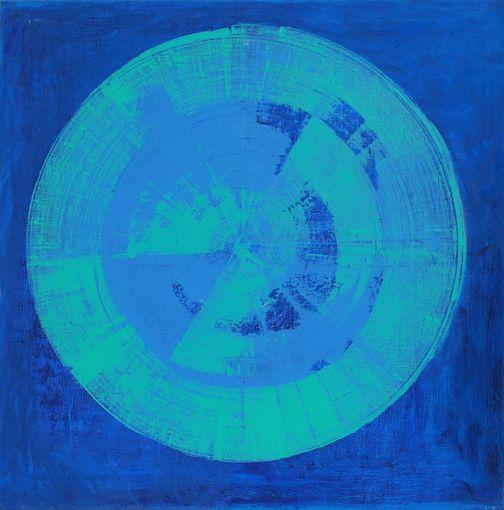 """Barbara Kowalczyk, """"Dookoła blue"""" (źródło: materiały prasowe)"""