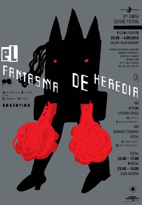 El Fantasma de Heredia – wystawa plakatów (źródło: materiały prasowe wydawcy)