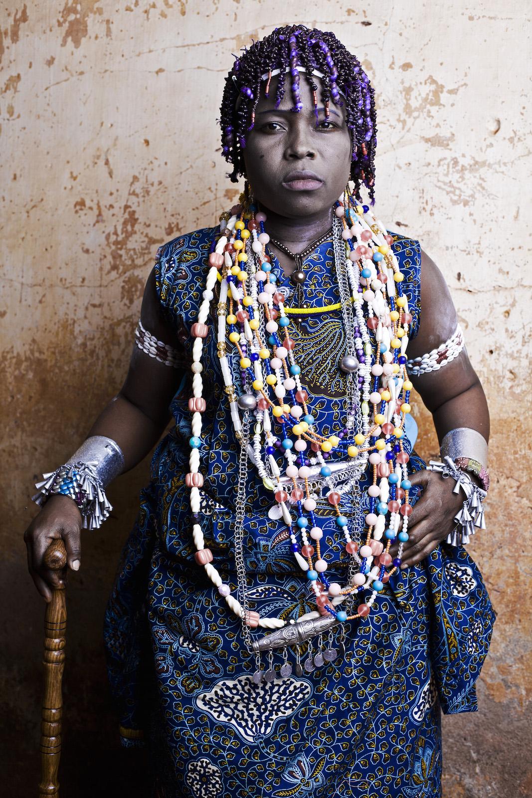 """Fotografia autorstwa Arkadiusza Podniesińskiego, wystawa """"Afrykańskie portrety"""" (źródło: materiały prasowe organizatora)"""