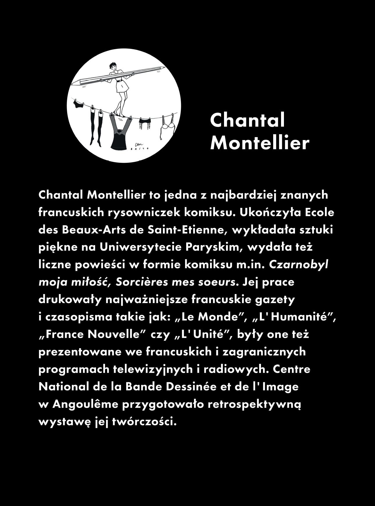 Chantall Montelier – biogram (źródło: materiały prasowe organizatora)