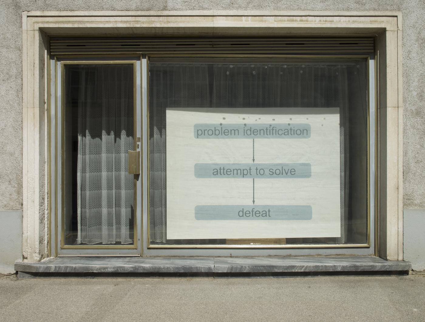 """Kama Sokolnicka, """"Ewaluacja"""", instalacja site-specific w austriackim Langenlois, 2011 (źródło: materiały prasowe organizatora)"""