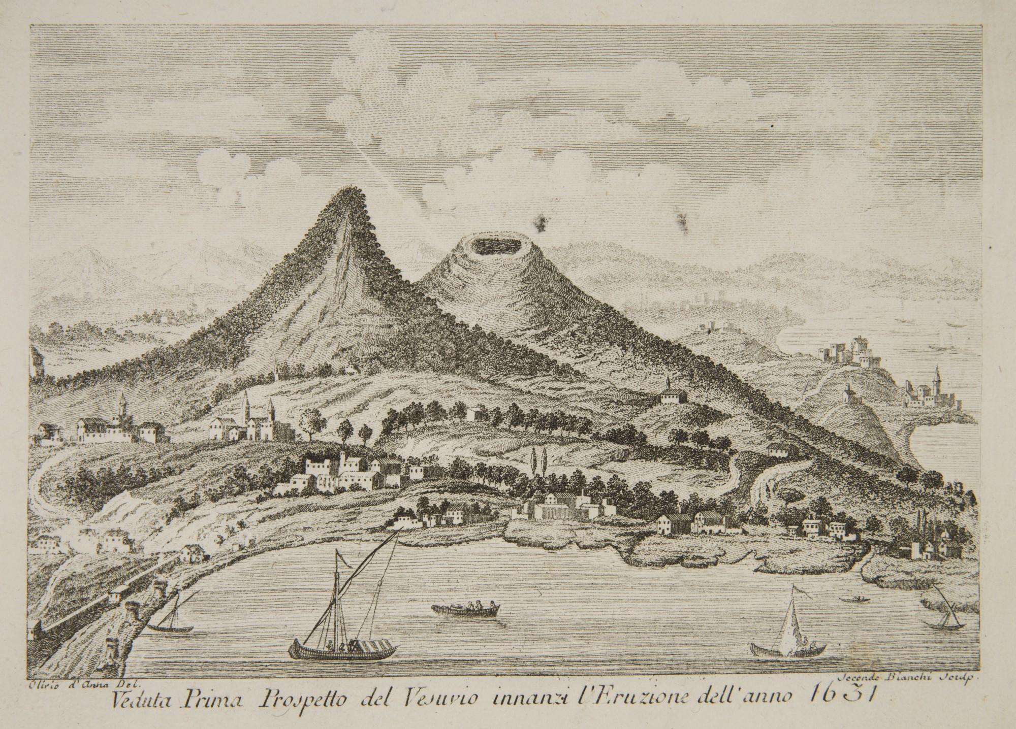 Ascanio duca della Torre Filomarino, Gabinetto Vesuviano, Napoli, 1797 – widok Wezuwiusza, fot. MNK (źródło: materiały prasowe organizatora)