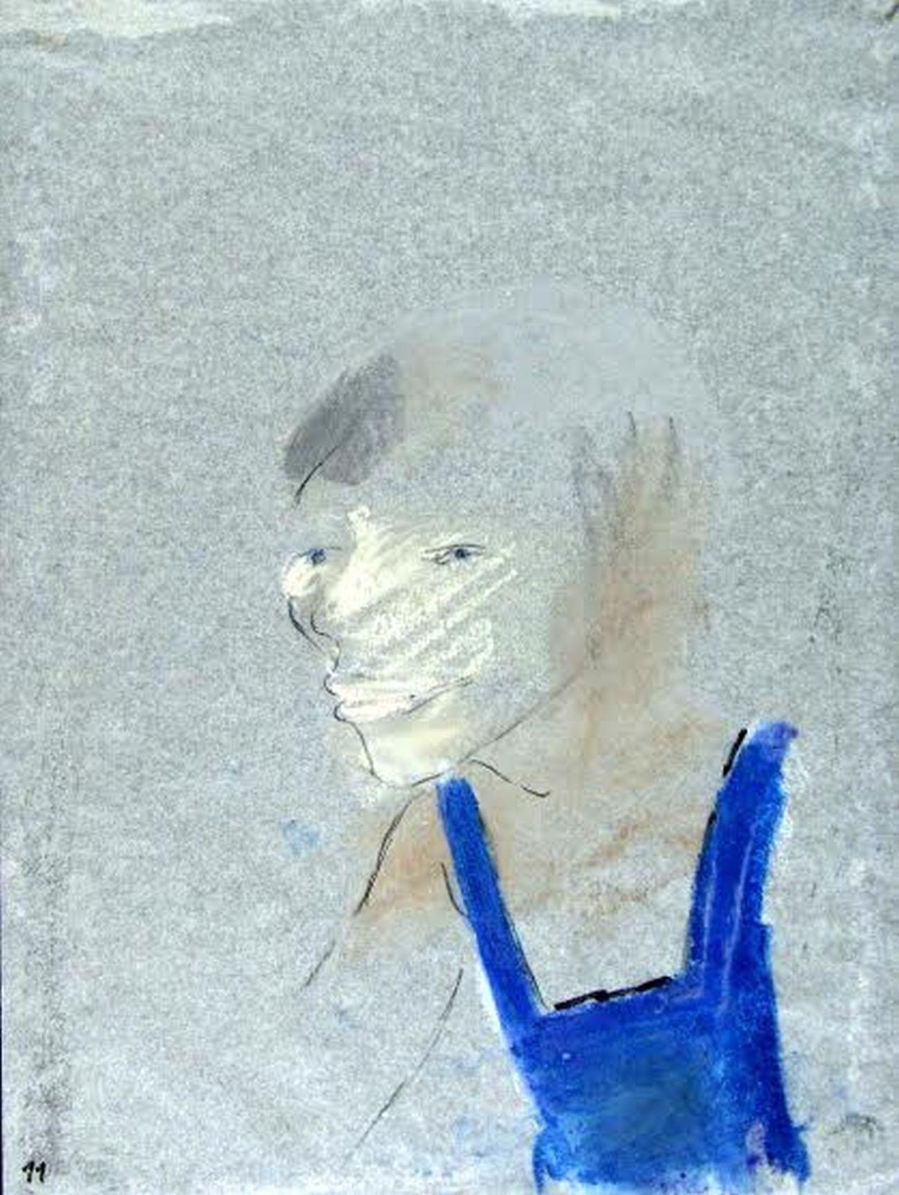 """Tadeusz Kantor, rysunek z serii """"Chłopcy"""", 1982 (źródło: materiały prasowe)"""
