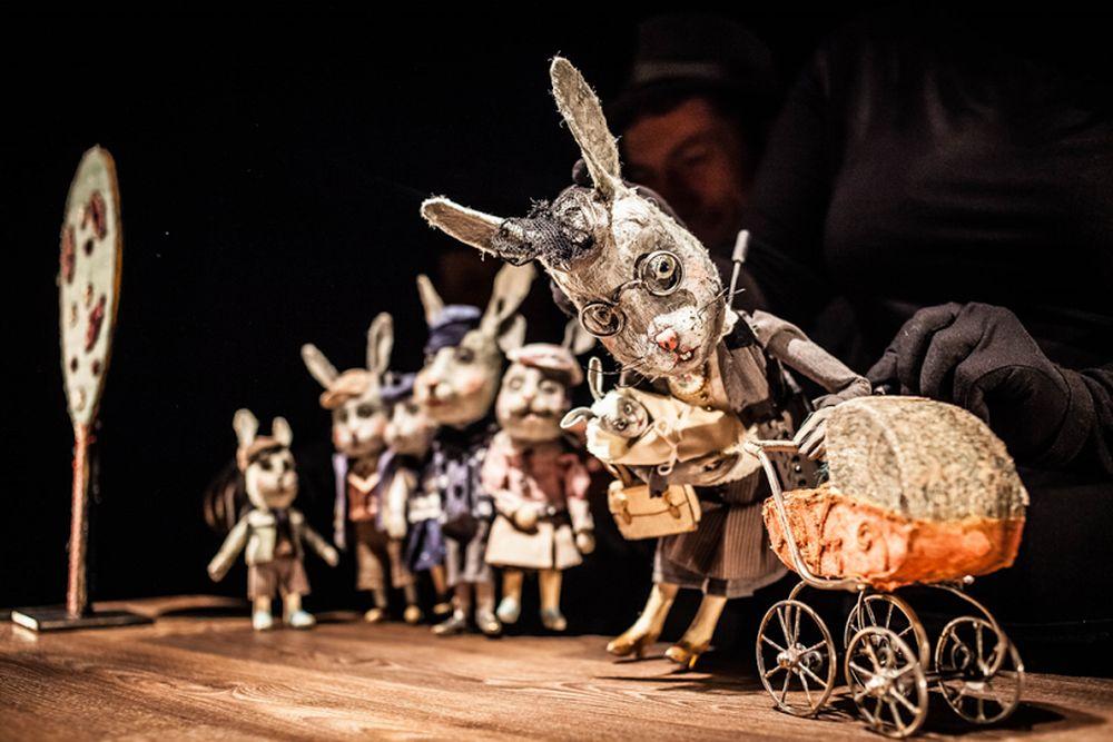 """""""A niech to gęś kopnie!"""", Teatr Animacji w Poznaniu (źródło: materiały prasowe)"""
