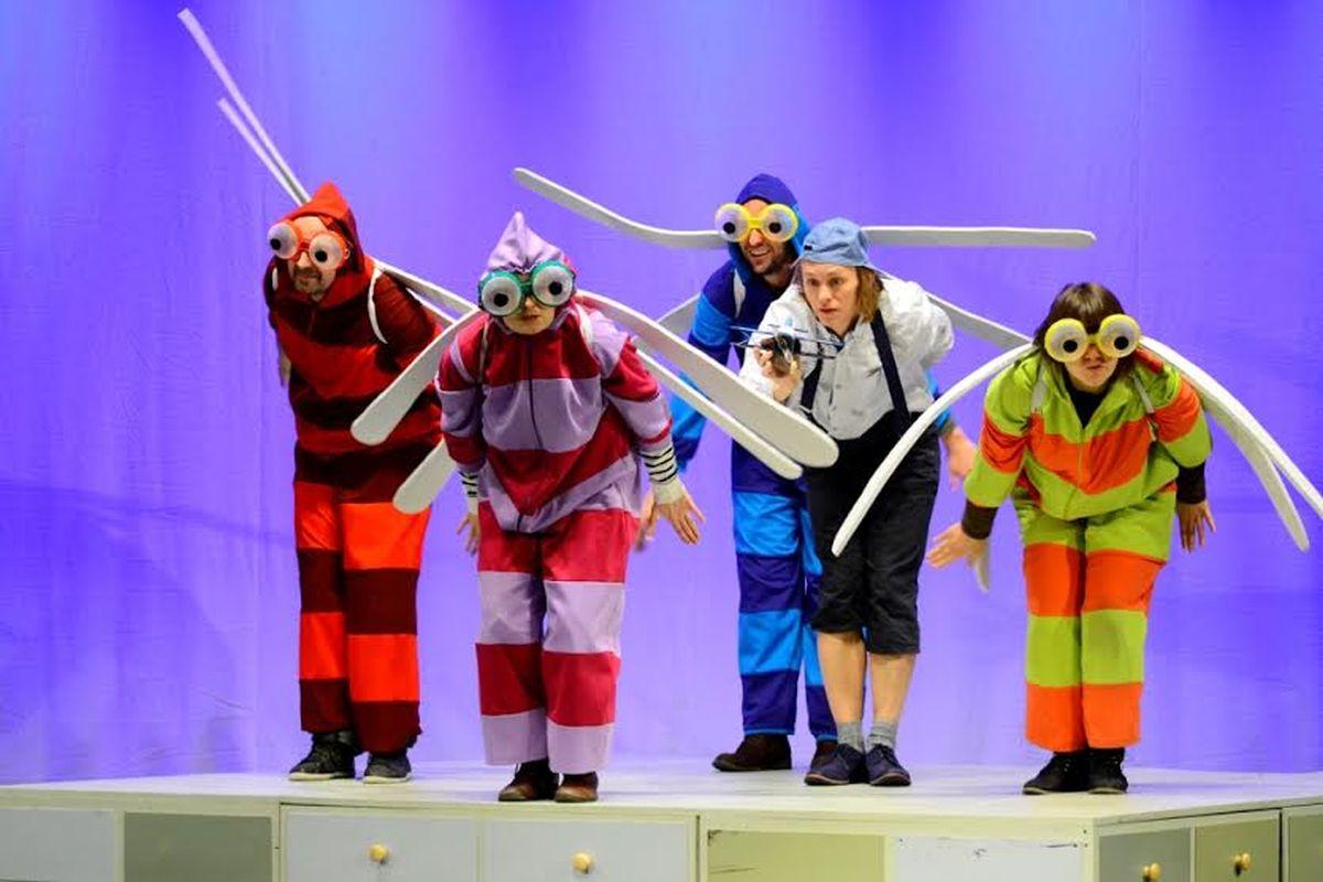 """""""Najmniejszy samolot na świecie"""", Teatr Maska w Rzeszowie (źródło: materiały prasowe)"""