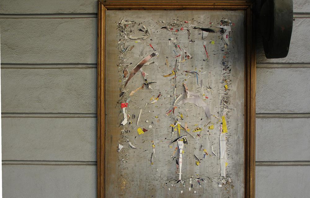"""Janusz Janczy, """"O przemożonym wpływie abstrakcji na codzienne życie miasta"""", 2014 (źródło: materiały prasowe organizatora)"""