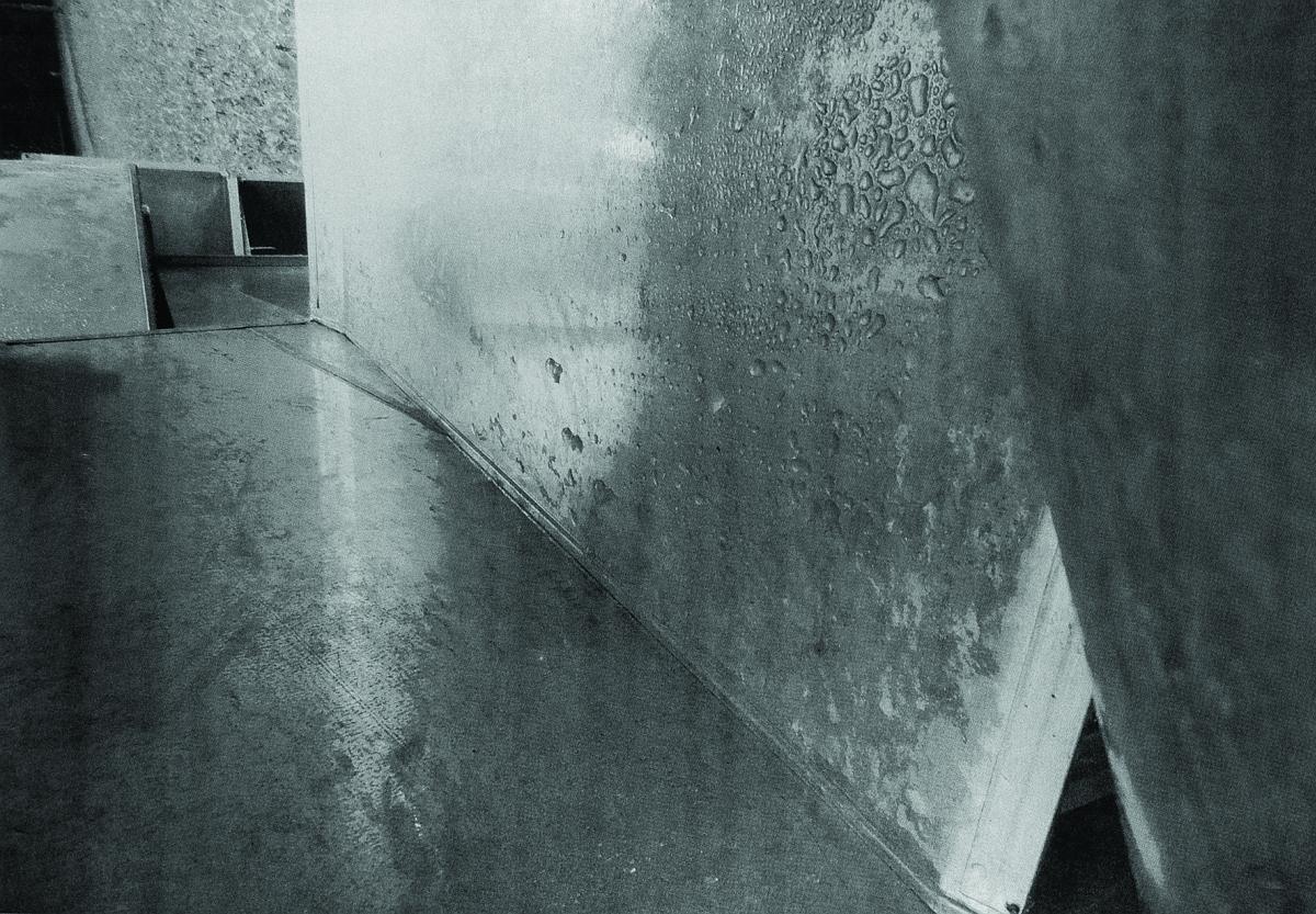 """Andrzej Kalina, z cyklu """"Szary dzień 4"""", serigrafia, 100x70 cm, 2014 (źródło: materiały prasowe)"""