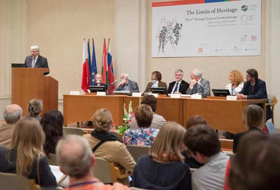2. Forum Dziedzictwa Europy Środkowej, obrady (źródło: materiały prasowe organizatora)