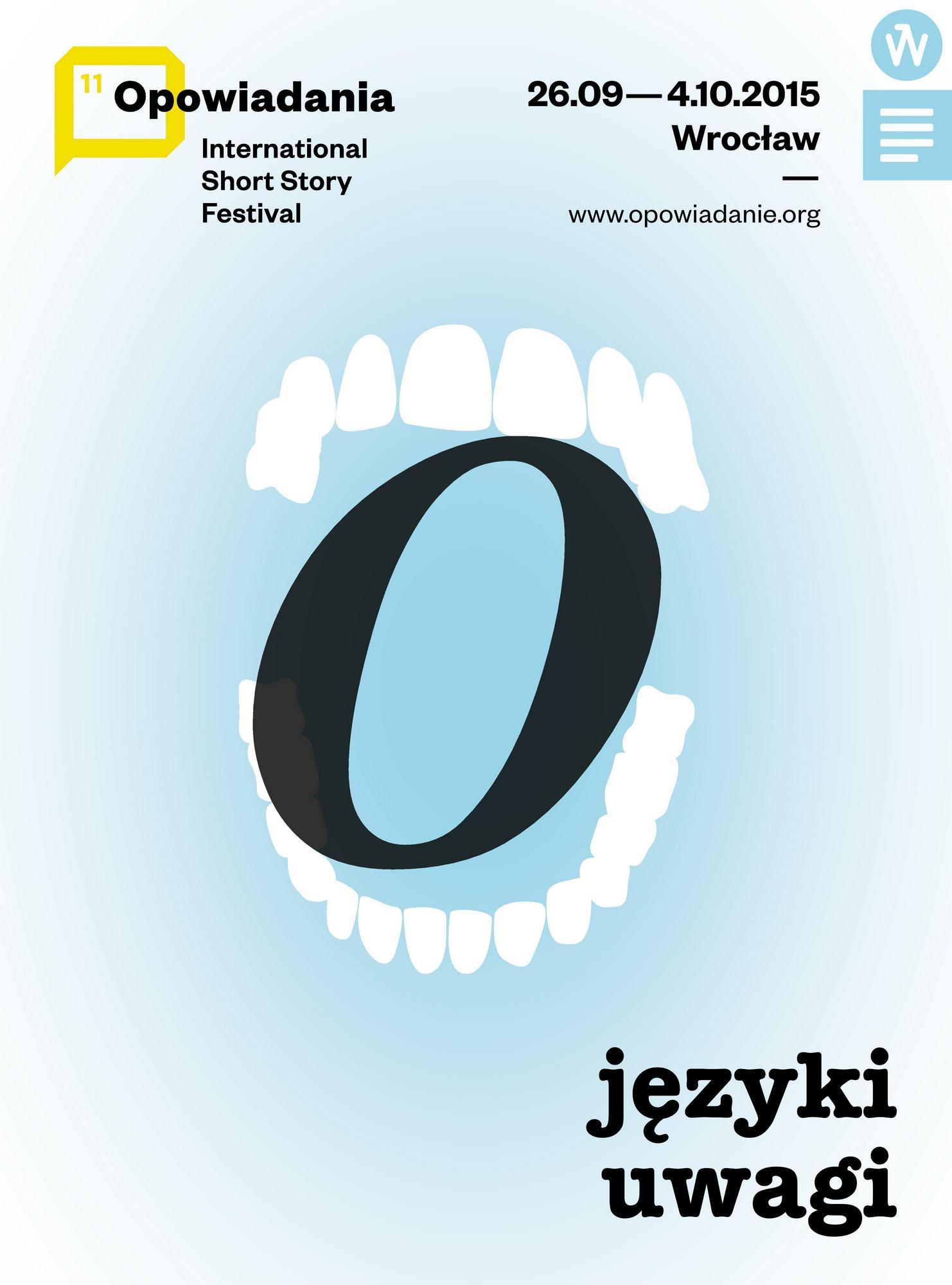 11. Międzynarodowy Festiwal Opowiadania – plakat (źródło: materiały prasowe organizatora)
