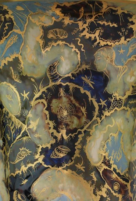 Dekoracja wazonu typu jasmin, ok. 1798–1806, manufaktura Schoelchera w Paryżu, Sèvres, Cité de la céramique Sèvres & Limoges, Musée national de Céramique, fot. RMN-GP / BE&W (źródło: materiały prasowe organizatora)
