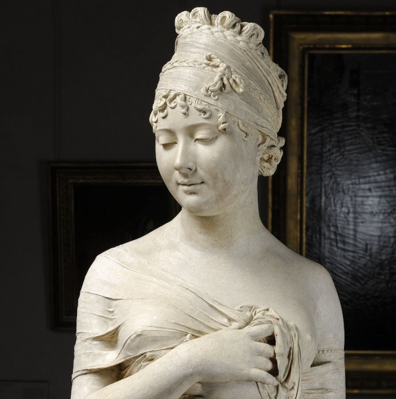 Joseph Chinard, Popiersie Juliette Récamier, 1798, Lyon, Musée des Beaux Arts, fot. © Lyon MBA – Alain Basset (źródło: materiały prasowe organizatora)