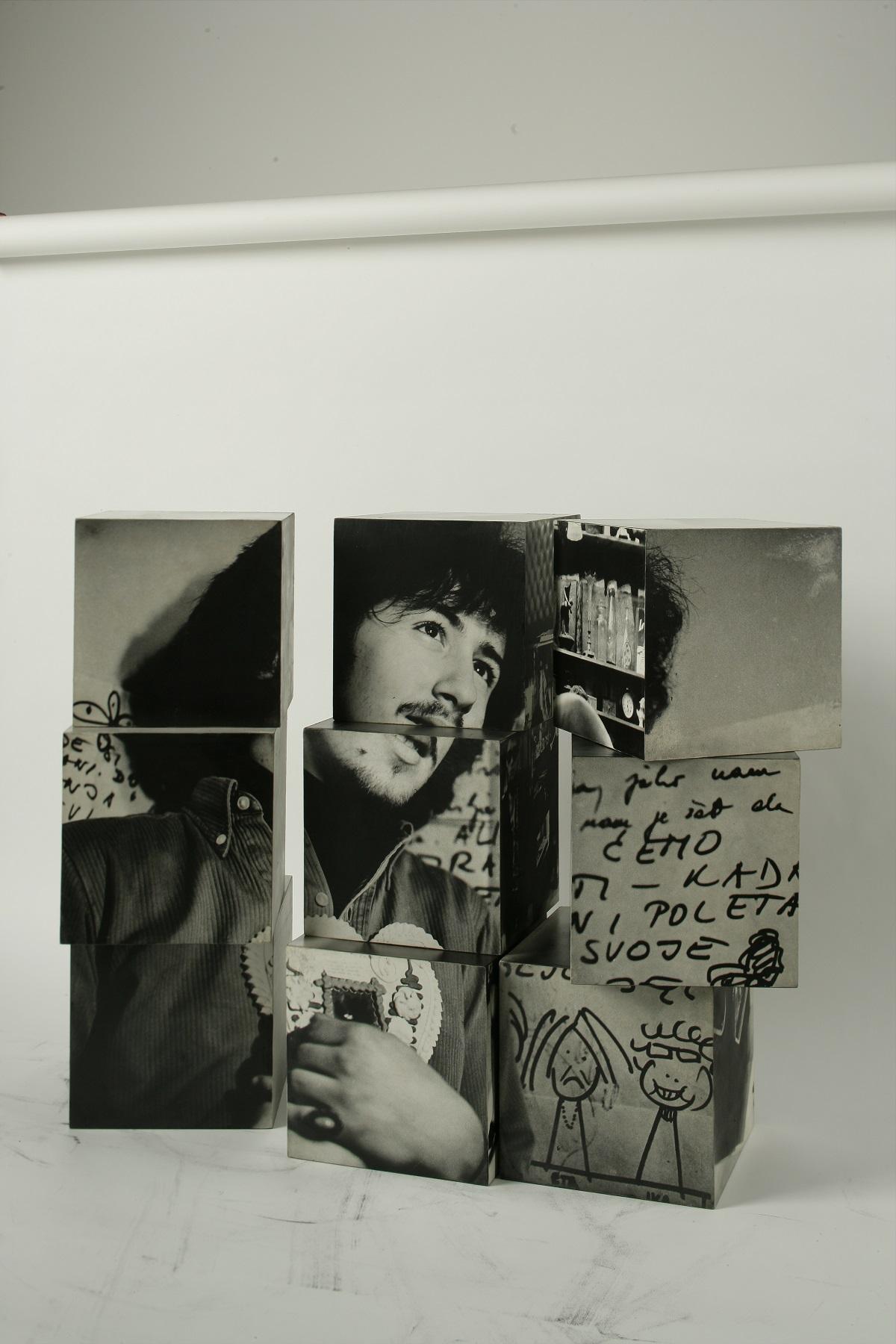 """Petar Dabac, """"Kostka"""" / """"Cube"""", 1970. Dzięki uprzejmości Muzeum Sztuki Współczesnej w Zagrzebiu / Courtesy of Museum of Contemporary Art Zagreb (źródło: materiały prasowe organizatora)"""