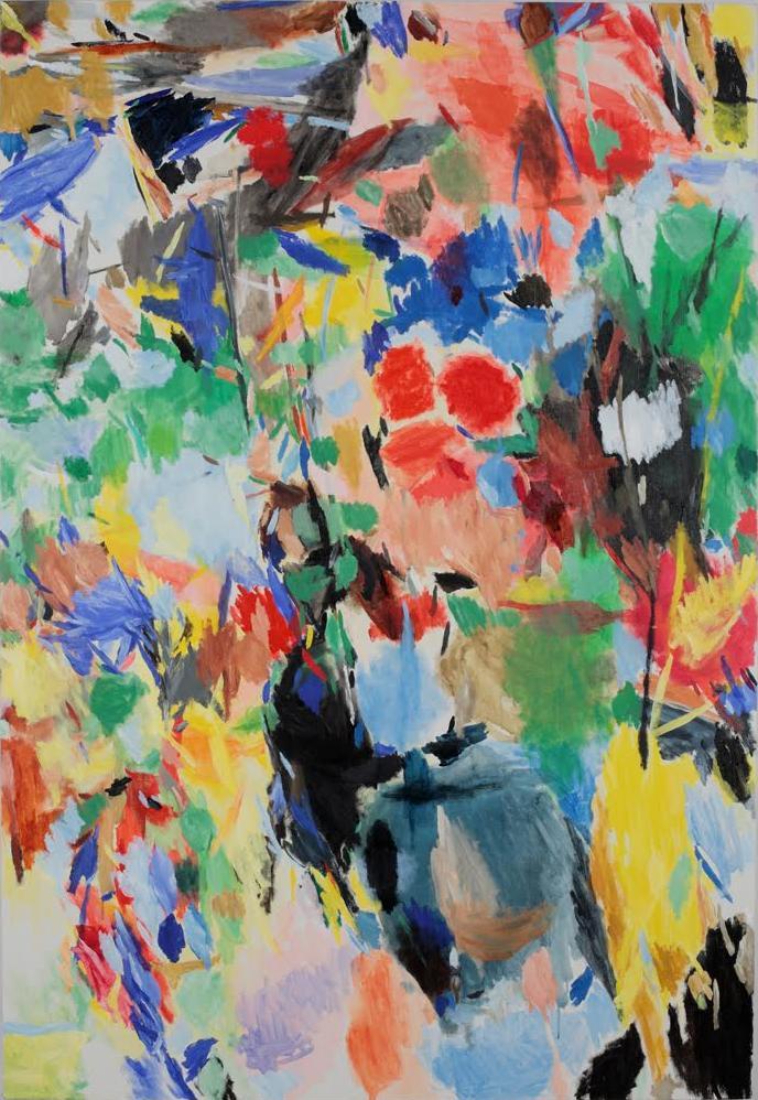 """Hirokazu Sagiura, z wystawy """"Rozmowa z ukiyo-e"""" (źródło: materiały prasowe organizatora)"""