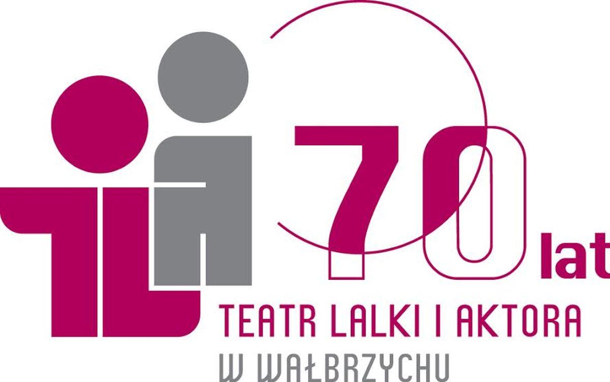 70-lecie Teatru Lalki i Aktora w Wałbrzychu – plakat (źródło: materiały prasowe)