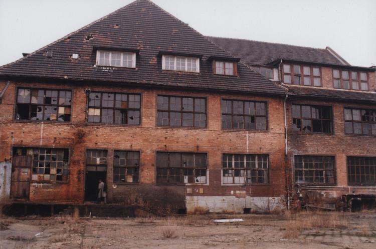 Instytut Sztuki Wyspa, stan początkowy, 2002 (źródło: materiały prasowe organizatora)