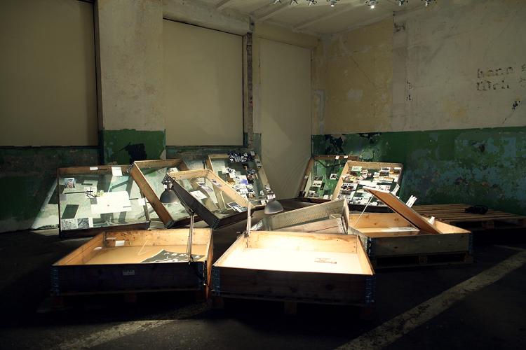 """Wystawa """"Teraz jest teraz"""", 2012, budynek IS Wyspa (źródło: materiały prasowe organizatora)"""