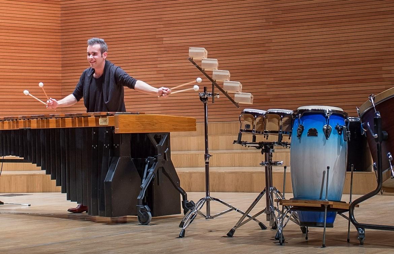 Laureat Międzynarodowego Konkursu muzycznego ARD Monachium 2014 Simone Rubino w Sali Koncertowej Akademii Muzycznej w Katowicach (źródło: materiały prasowe organizatora)