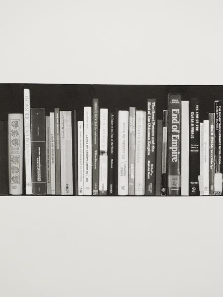 """Fotografie: Jaro Varga, """"Library"""". Dzięki uprzejmości artysty i Dolnośląskiego Towarzystwa Zachęty Sztuk Pięknych (źródło: materiały prasowe organizatora)"""