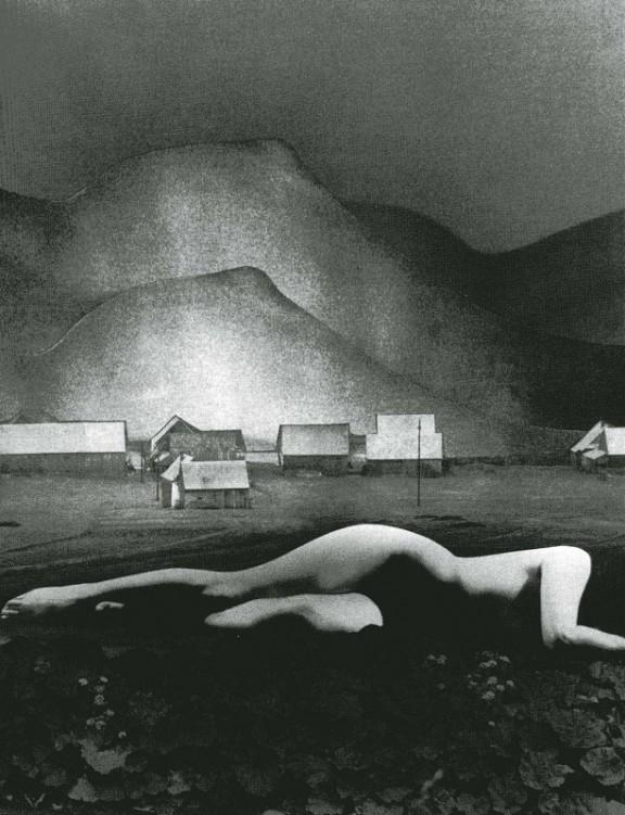 """Zofia Rydet, """"Pejzaż"""", 1977 (źródło: materiały prasowe organizatora)"""