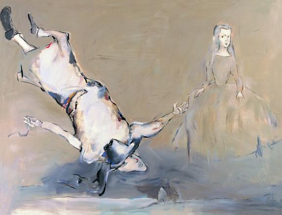 """Tadeusz Kantor, """"Pewnej nocy weszła do mego pokoju Infantka Velasqueza"""", 1988, z cyklu """"Dalej już nic"""", Kolekcja Grażyna Kulczyk (źródło: materiały prasowe organizatora)"""