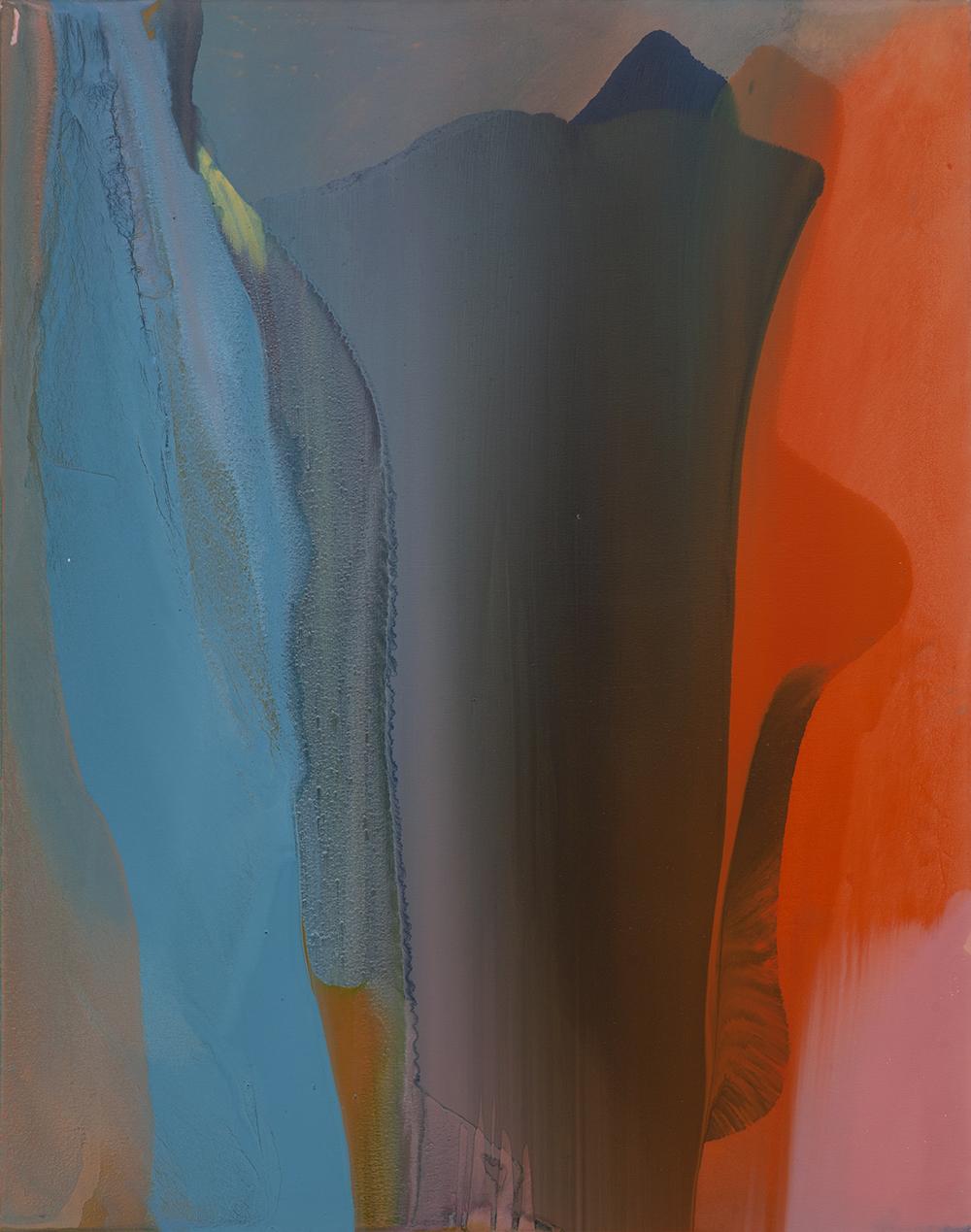 Jarosław Fliciński, Aug 2013 / May 2014, 185 x 145 cm, akryl na płótnie; Esteval (źródło: materiały prasowe)