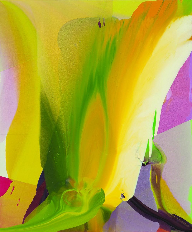 Jarosław Fliciński, Oct/Nov 2014, 230 x 190 cm, akryl na płótnie; Esteval (źródło: materiały prasowe)