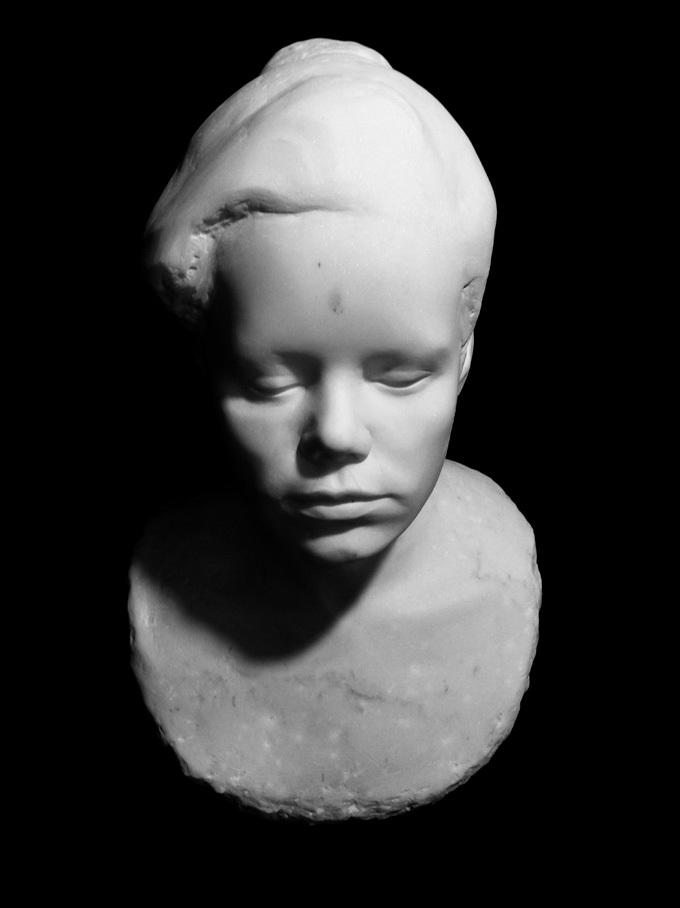 Anna Skoczylas, Autoportret, Wydział Rzeźby (źródło: materiały prasowe)