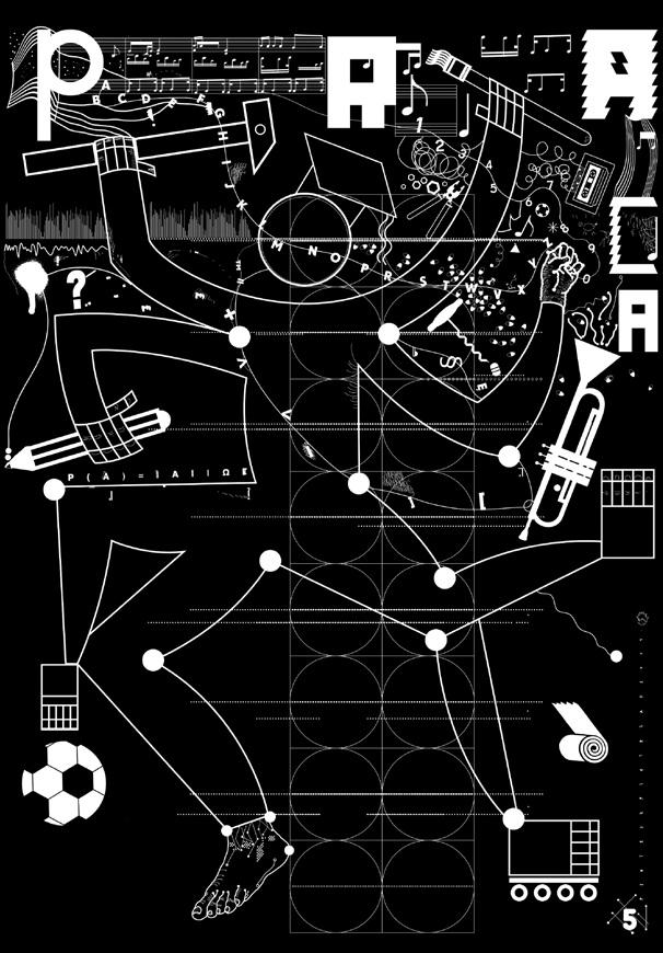 Piotr Pietrzak, Rzeczywistość przestrzeni barw RGB, Wydział Grafiki (źródło: materiały prasowe)