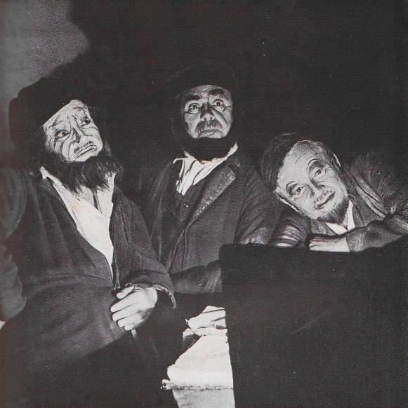 """Hebrajski Teatr Habima, """"Dybuk"""" w reż. W. Wachtangowa, Moskwa, 1922 (źródło: materiały prasowe)"""