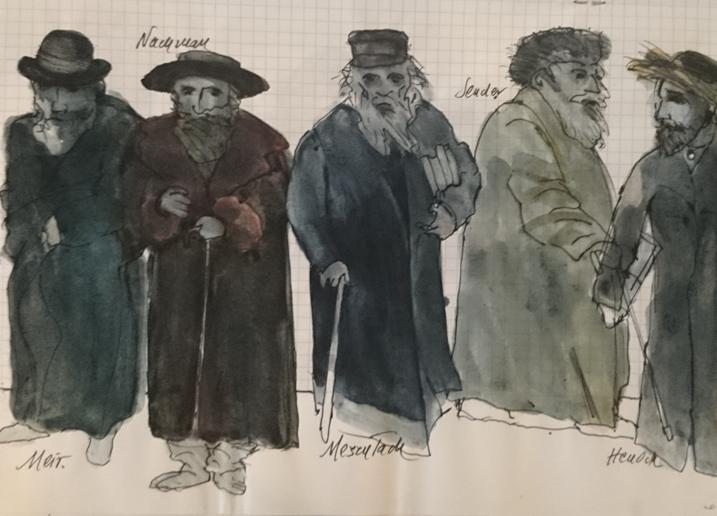 Andrzej Wajda, Stary Teatr w Krakowie, 1988 (źródło: materiały prasowe)